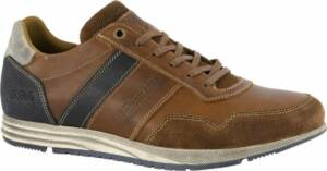 AM shoe Heren Cognac leren veterschoen - Maat 46