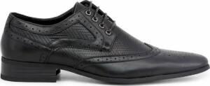 Duca di Morrone - Lace up - Heren - SCOTT - Black
