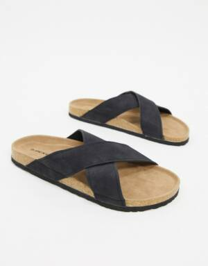 Dunlop - Sandalen in zwart