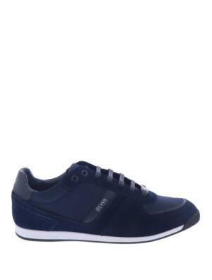 Hugo Boss Glaze Lowp MX Dark Blue Sneakers