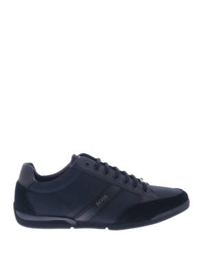 Hugo Boss Saturn Lowp MX Black Sneakers lage-sneakers