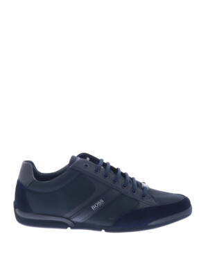 Hugo Boss Saturn Lowp MX Dark Blu Sneakers lage-sneakers