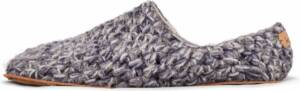 Kingdom of Wow - Pantoffels Heren Laag Wol Grijs Maat 47/48 - Duurzaam en Eerlijk Gemaakt