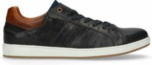 Manfield - Heren - Donkerblauwe sneakers - Maat 47