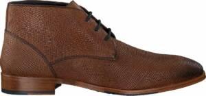 MazzelTov Heren Nette schoenen 11-950-6605 - Cognac - Maat 46