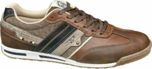 Memphis One Heren Bruine sneaker vetersluiting - Maat 46