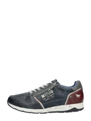 Mustang - Heren Sneakers - Blauw