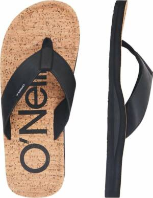 O'Neill Chad Fabric Heren Slippers - Brown Aop - Maat 47