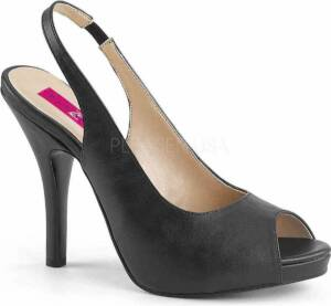 Pleaser Hoge hakken -46 Shoes- EVE-04 US 15 Zwart