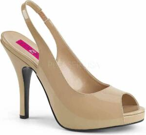 Pleaser Hoge hakken -47 Shoes- EVE-04 US 16 Creme