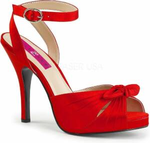 Pleaser Pink Label Hoge hakken -46 Shoes- EVE-01 US 15 Rood