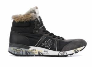 Premiata Heren Sneakers in Stof (Bruin)