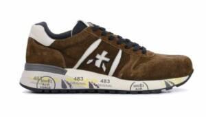 Premiata Heren Sneakers in Suede (Bruin)