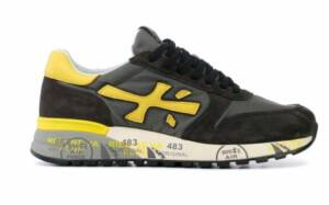 Premiata Heren Sneakers in Suede (Grijs)