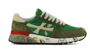 Premiata Heren Sneakers in Suede (Groen)