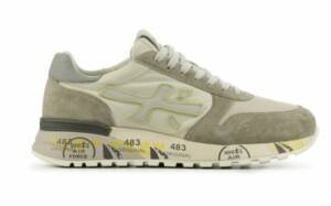 Premiata Heren Sneakers in Suede (Wit)