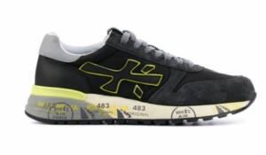 Premiata Heren Sneakers in Suede (Zwart)