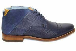 Rehab Spyke II blauw, grijs en cognac