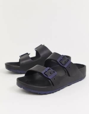 Slydes - Heren - Sandalen met dikke zool in zwart