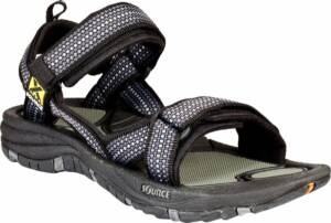 Source Gobi Men's - Heren - Sandalen - Maat 46 - Mannen - zwart/grijs/wit