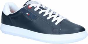 Tommy Hilfiger Essential Leather Blauwe Veterschoenen Heren 46