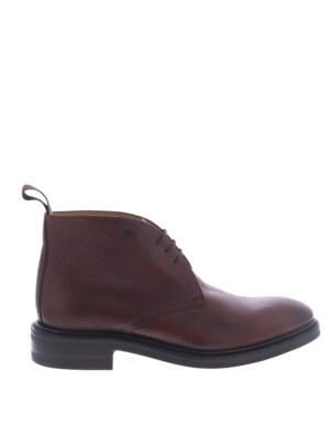 Van Bommel 10161 Dark Cognac G+ Wijdte Boots veter-boots