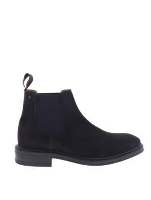 Van Bommel 10196 Brown Suede G+ Wijdte Boots chelsea-boots