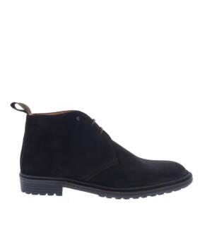 Van Bommel 10354 Dark Brown H-Wijdte Boots veter-boots
