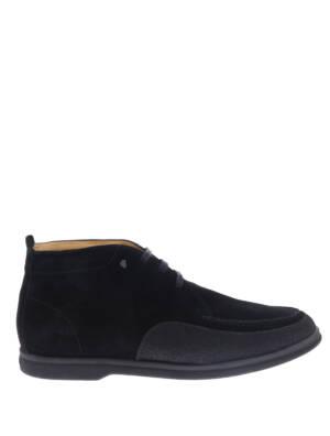 Van Bommel 20205 Black G+ Wijdte Boots veter-boots