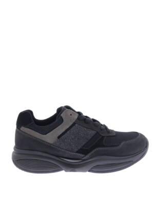 Xsensible 30062.1 Black Grey H-Wijdte Veterschoenen