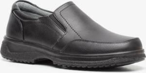 Zwarte heren instappers - Zwart - Maat 46