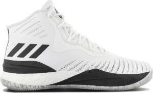 adidas D Rose 8 CQ0851 Heren Basketbalschoenen Sportschoenen Schoenen Sneakers Wit - Maat EU 51 1/3 UK 15