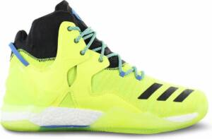 adidas Derrick D Rose 7 Primeknit AQ7215 Heren Basketbalschoenen Sportschoenen Sneaker Gelb - Maat EU 51 1/3 UK 15