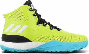 adidas Derrick D Rose 8 Boost - Heren Basketbalschoenen Sportschoenen Sneakers Groen CQ0828 - Maat EU 49 1/3 UK 13.5