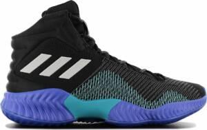adidas Pro Bounce 2018 - Heren Basketbalschoenen Sportschoenen Sneakers Zwart AH2657 - Maat EU 49 1/3 UK 13.5