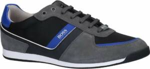 Grijze Hugo Boss Glaze Low Veterschoenen Heren 46