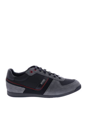 Hugo Boss Glaze Lowp MX Dark Grey Sneakers lage-sneakers