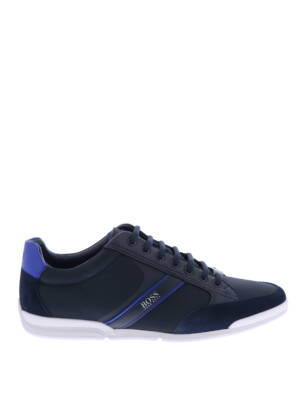 Hugo Boss Saturn Lowp MX Dark Blue Sneakers lage-sneakers