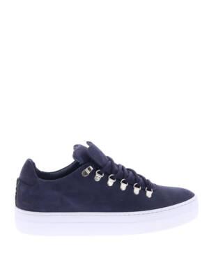 Nubikk Jagger Classic Navy Nubuck Sneakers lage-sneakers