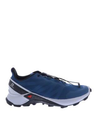 Salomon Supercross Poseidon Pearl Blue Sneakers lage-sneakers