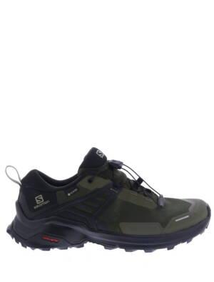 Salomon X Raise GTX Grape Leaf Black Sneakers lage-sneakers