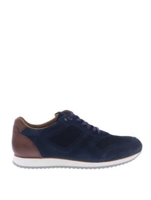 Van Bommel 16224 Dark Blue G-Wijdte Sneakers lage-sneakers