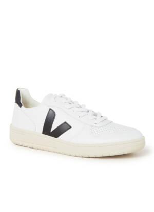 Veja V-10 sneaker van leer