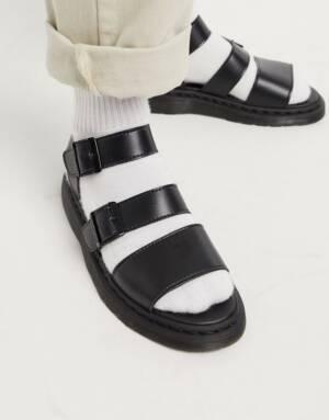 Dr Martens - Vegan - Gryphon - Sandalen met bandjes in zwart