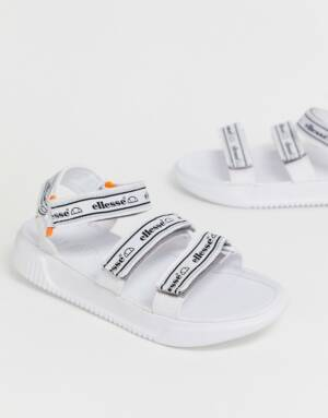 Ellesse - Denso - Sandalen met dikke zool in wit