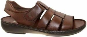Fbaldassarri -Heren - bruin - sandaal - maat 46