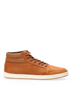 Industry 2.0 Hoge Sneaker Leer