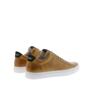 Blackstone Heren Sneakers in Leder (Cognac)