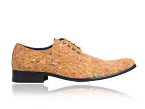 Colored Cork - Lureaux - Handgemaakte Nette Schoenen Voor Heren