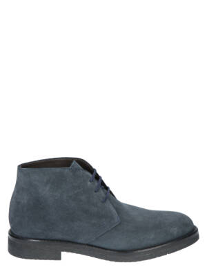 Daniel Kenneth Luiz Velour Denim Boots
